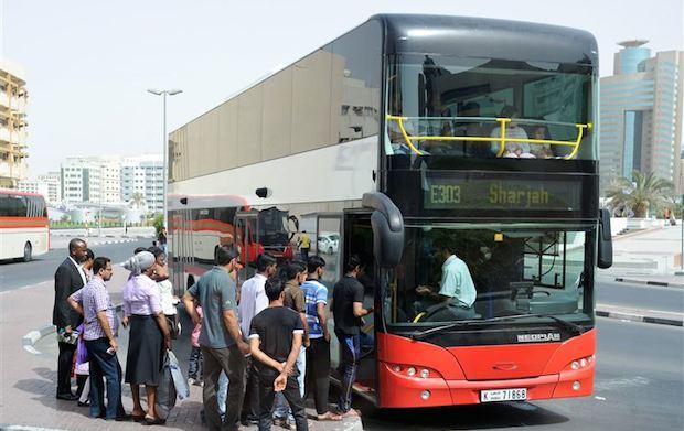 Dubai's RTA launches free wifi on buses to Sharjah, Abu