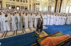Sheikh Mohammed among mourners at Dubai Police chief's funeral