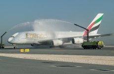 Emirates begins world's shortest A380 route to Doha