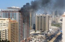 Fire breaks out in Sharjah building