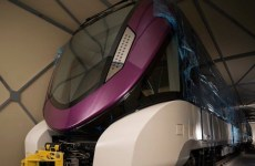 French firm Alstom delivers the first metro trainset to Riyadh