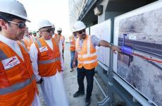 Work progresses on Dubai Metro extension to Expo 2020 site