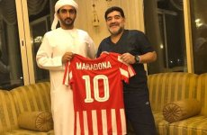 Diego Maradona appointed new coach of Fujairah football club