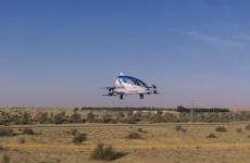 Video: UAE's first drone taxi almost ready for passengers
