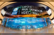New Dubai video wall breaks three world records