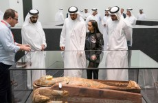 UAE royals tour Louvre Abu Dhabi ahead of its opening