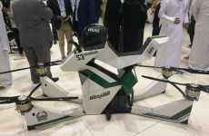 Video: Dubai Police test hover bike
