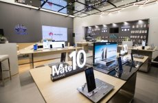 China's Huawei opens first Middle East store in Dubai