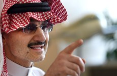 Alwaleed's Kingdom Holding says has support from Saudi government