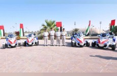 Abu Dhabi Police unveils ambulance cycle fleet