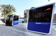 Dubai to test driverless transport pods