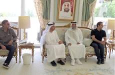 UAE President Sheikh Khalifa receives Ramadan greetings in France