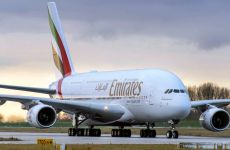 Emirates operates one-off A380 to Ghana's Accra