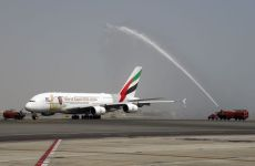 Emirates flies one-off A380 jet to Muscat
