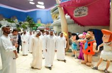 Pictures: UAE royals open world's first Warner Bros theme park in Abu Dhabi