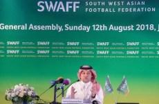 Saudi football federation chief resigns