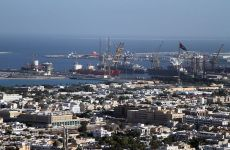 Yacht catches fire in Dubai's Port Rashid