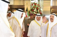 Kuwait ruler departs to UK on private visit