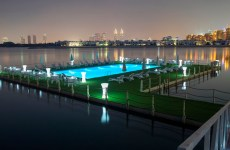 Dubai's Nakheel opens UAE's first 'floating pool' at Palm Jumeirah