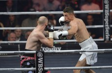 Pictures: Callum Smith wins Saudi's first professional boxing match