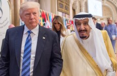 Trump says US would be 'punishing' itself if it halts Saudi arms sales