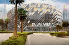 Dubai Arena facade work finished as venue prepares for 2019 opening