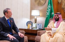 Saudi crown prince meets British special envoy