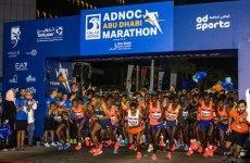 Pictures: Abu Dhabi holds first marathon