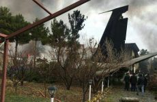 Iranian military cargo plane crashes, 15 killed