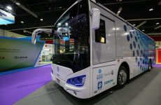 Abu Dhabi's Masdar launches region's first all-electric bus