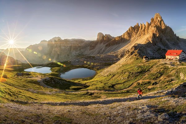 Travel review The Dolomites