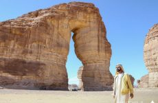 Pics: Sheikh Mohammed tours historic site in Saudi