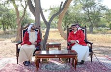 Sheikh Mohammed meets with Bahrain's King