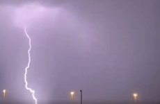Video: Rain, lightning in parts of the UAE, temperatures edge above 40 degrees