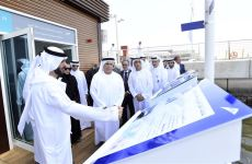 Video: Dubai opens UAE's first floating marine transport station