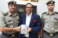 Dubai-based Bangladeshi businessman receives UAE gold card residency