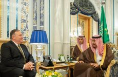 Pompeo meets Saudi King in Jeddah, discusses Iran crisis