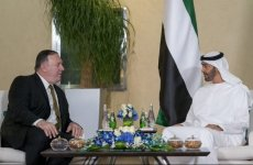 Pompeo meets Abu Dhabi Crown Prince, discusses Iran