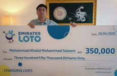 Indian expat in Dubai wins Dhs350,000 in newly-launched Emirates Loto