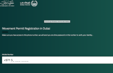 Dubai moving permits