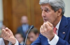 "Kerry to visit Gulf Arab states, vows to ""push back"" against Iran"