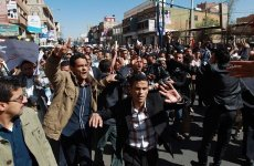 Embassies In Yemen Close As Thousands Protest Against Militia Rule