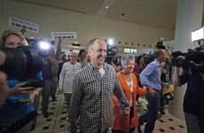 Al Jazeera Journalist Greste Arrives Home In Australia