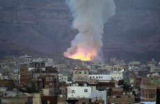 Saudi-led air strike kills 20 in Sanaa, medics and local officials say