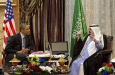 Obama, Saudi King Discuss Syrian Rebels, Iran, Gulf Security