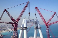 World's highest observation wheel takes shape in Dubai