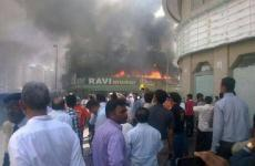 Fire Reported In Dubai's Ravi Restaurant