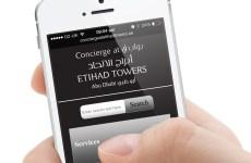 Etihad Towers Abu Dhabi Launches Concierge App