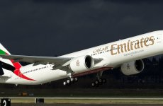 Emirates Flight Faces Engine Fire While Landing In Boston