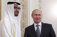 Abu Dhabi Crown Prince and Russia's Putin discuss Syria, Yemen